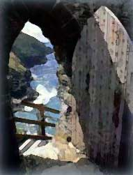 The Lady's Door - Tintagel Castle